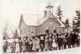 image 1900-group-of-school-children-in-front-of-the-lyndhurst-public-school-circa-the-1900-jpg